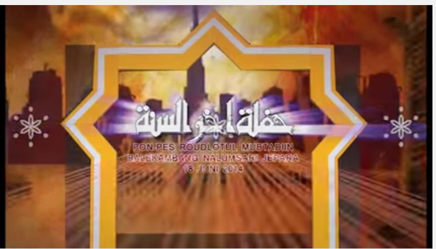 Haflah Akhirussanah Tahun 2013/2014